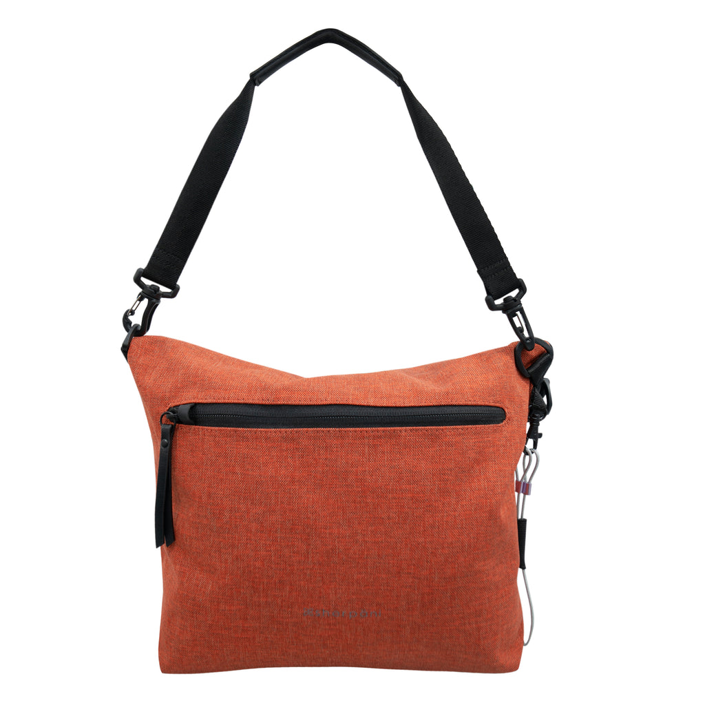 Vale AT (Front, fold-over silhouette) in Anti-Theft Collection (Copper)