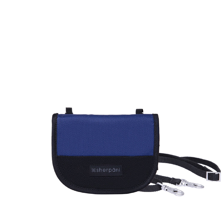 Sherpani Zoe, Recycled Nylon Wallet, Crossbody Wallet and Mini Purse Crossbody for Women, with RFID Protection (Atlantic)