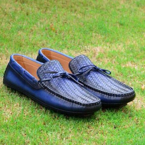 Woven Driving Moccasin A3