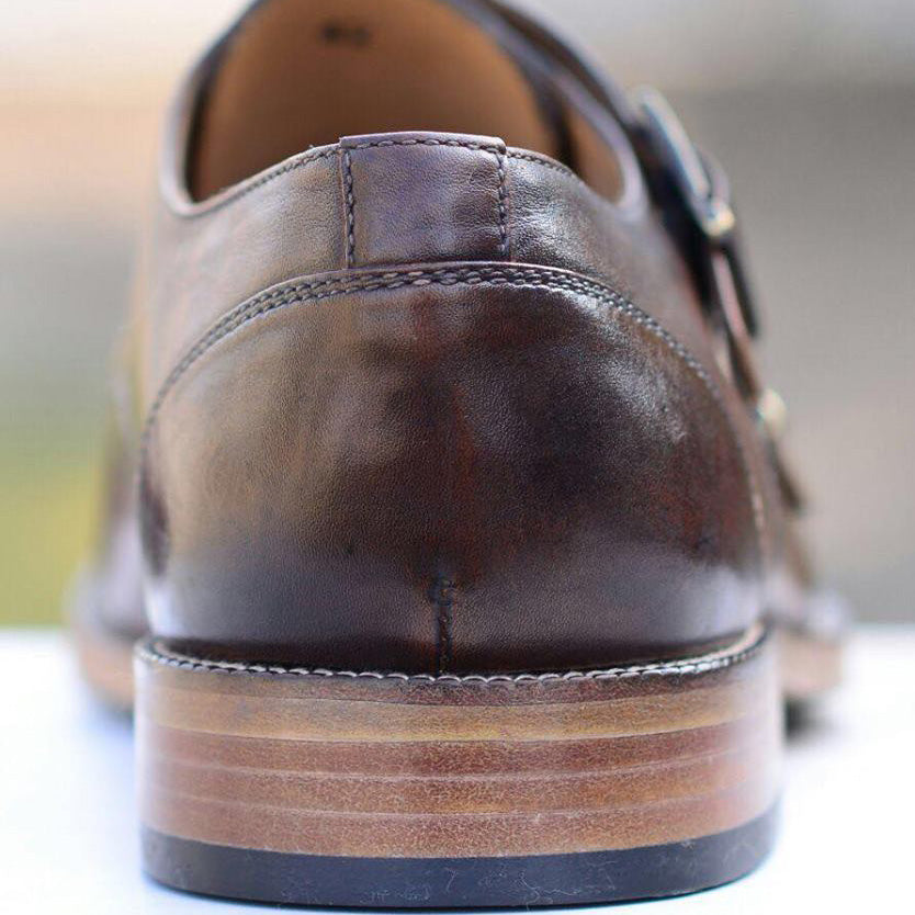 Double Toe-Cap Monkstrap A3