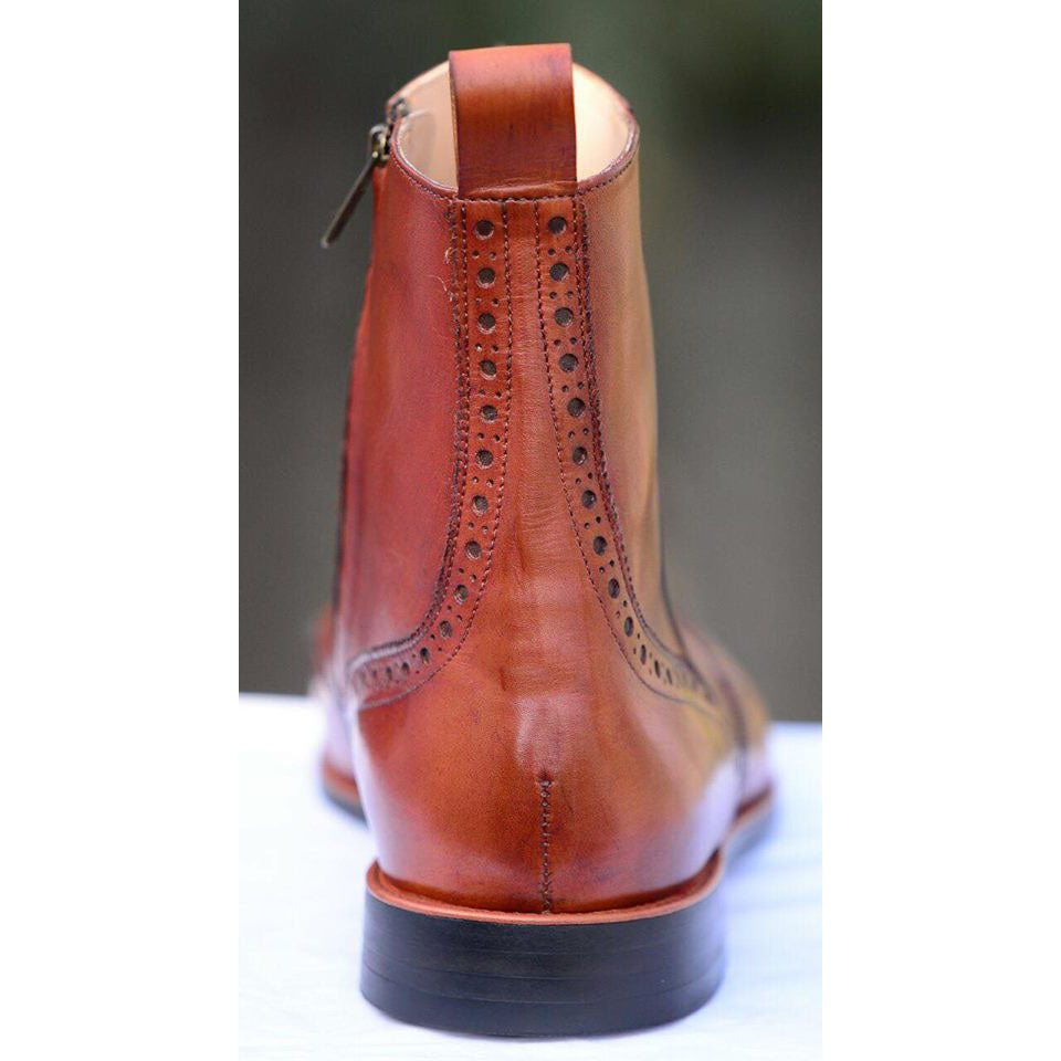Wingtip Chelsea Boot