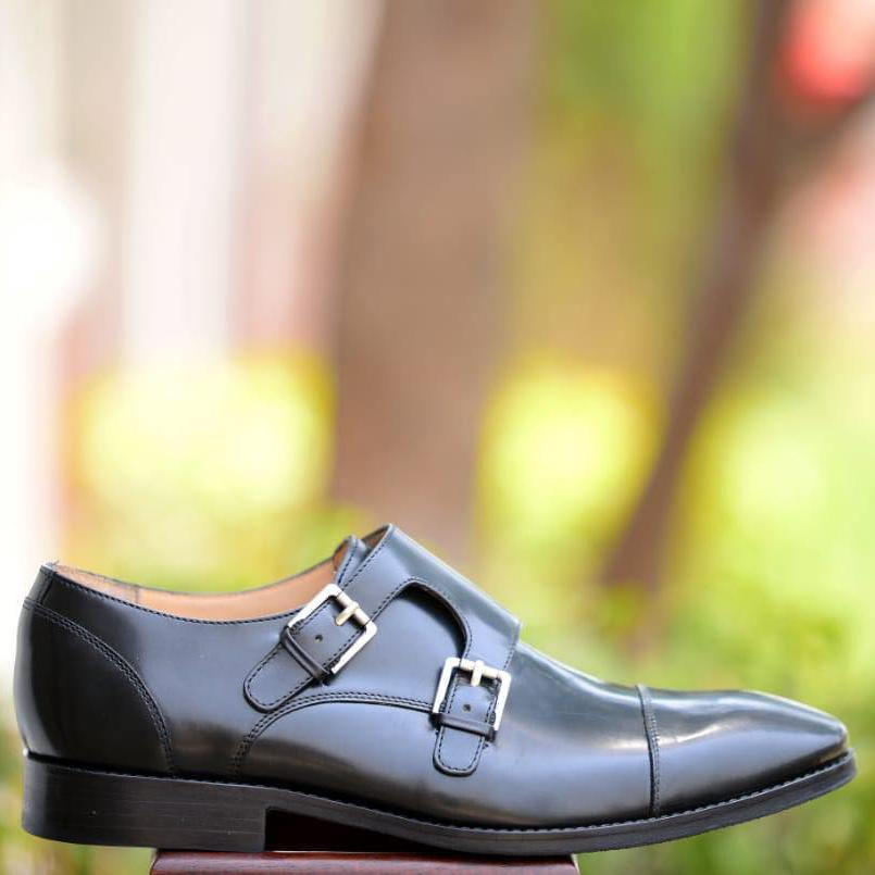 Double Toe-Cap Monkstrap A4