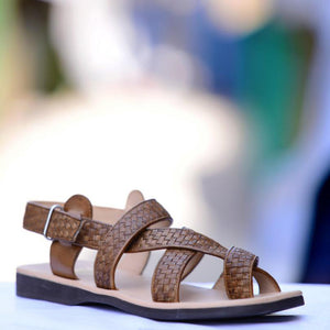 Greek Woven Sandals