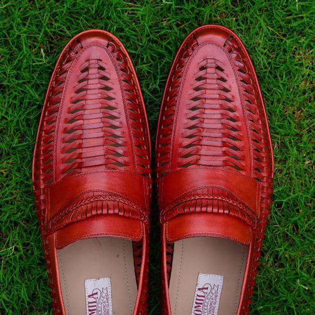 Barcelona in Oxblood Burgundy
