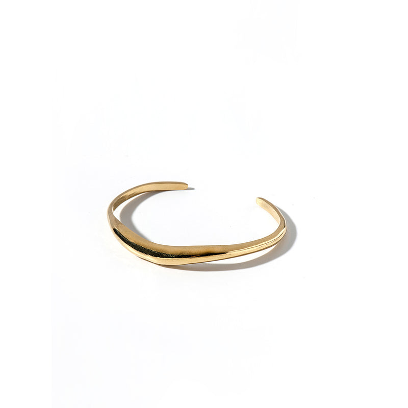 FORM bracelet gold plated - Goldy jewelry store