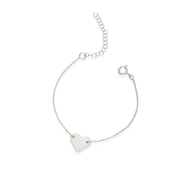HART medium silver bracelet - Goldy jewelry store