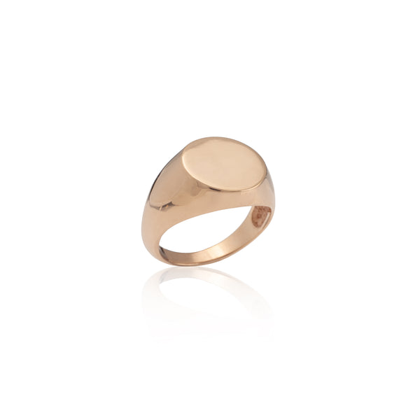 SEAL ring gold plated Ring - Goldy jewelry store