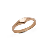 14k gold small heart ring - Goldy jewelry store