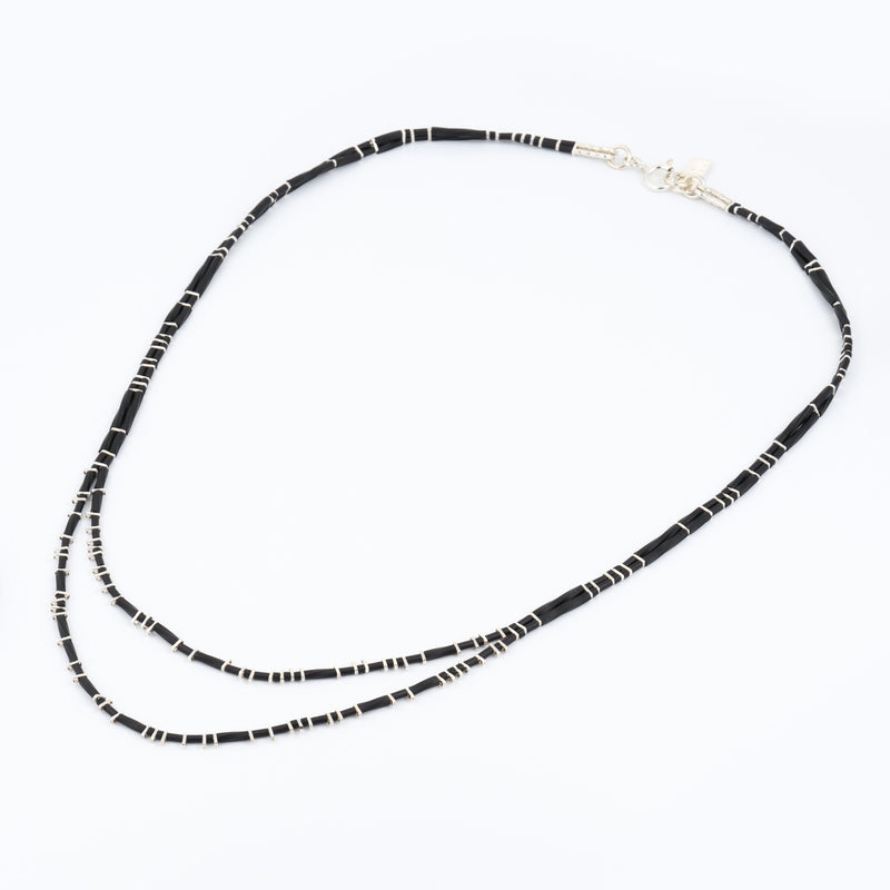 2 lines necklace - Goldy jewelry store
