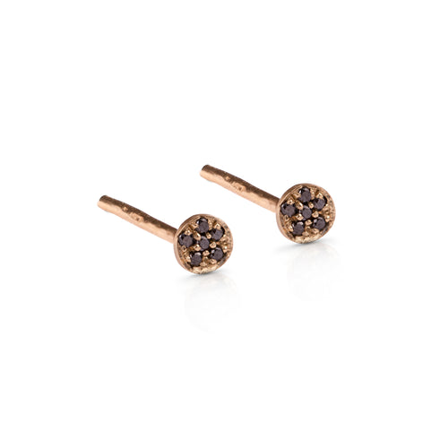 14k gold earrings with diamonds / gemstones