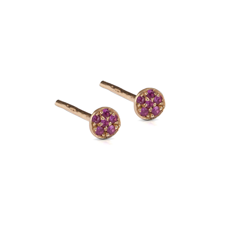 14k GOLD earrings with diamonds / gemstones - Goldy jewelry store
