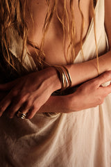 FORM bracelet gold plated