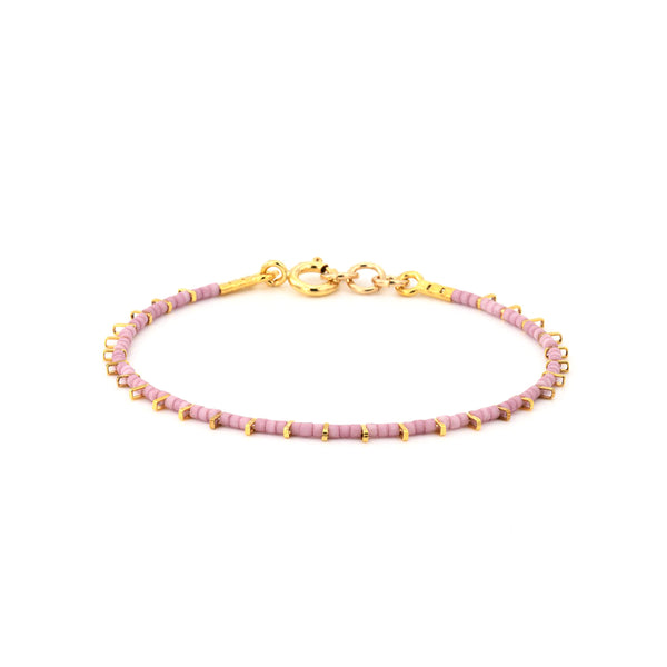 Gold plated single bracelet