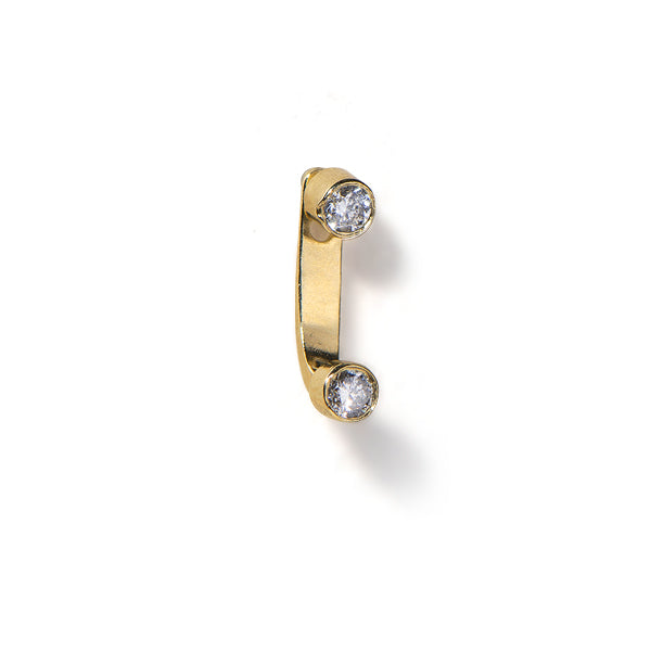 14K gold mini tinker earring