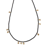 14k gold necklace with spinal - Goldy jewelry store