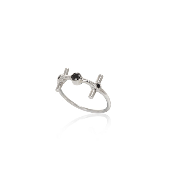 NUN Silver Ring - Goldy jewelry store