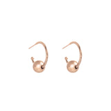 VENUS gold plated 10mm Earring - Goldy jewelry store