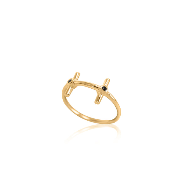 WISH gold plated Ring - Goldy jewelry store