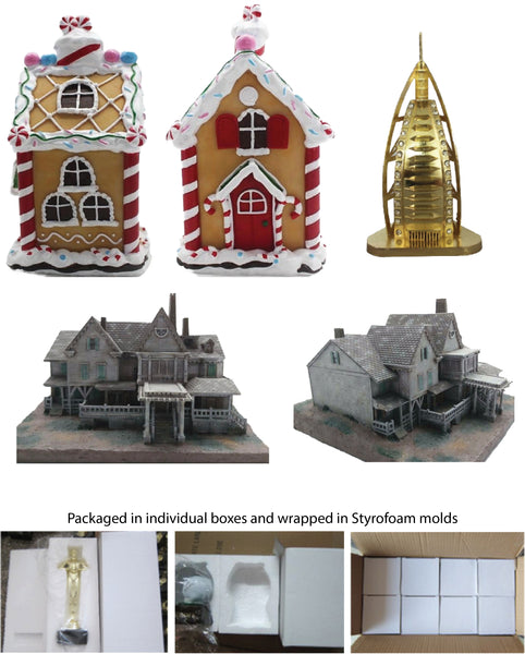 Custom Polyresin Buildings