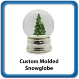 Custom Molded Snowglobe