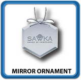 Mirror Ornaments