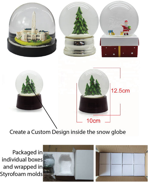 Custom Poly Resin Snowglobes