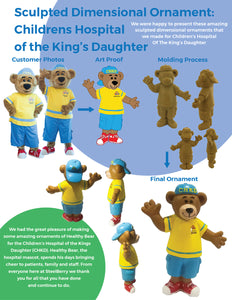 CASE STUDY OF CHILDREN'S HOSPITAL OF THE KING'S DAUGHTER ORNAMENT