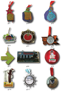 Gift and Retail Ornaments - Steelberry Ornaments