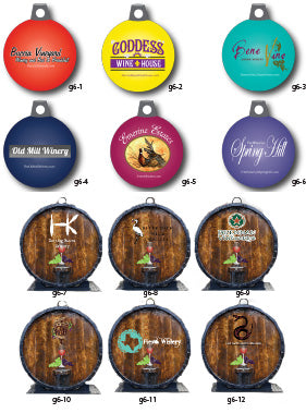 Vineyard & Winery Ornaments - Steelberry Ornaments