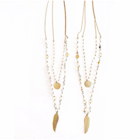 New ! Gia Fringe Statement Necklace