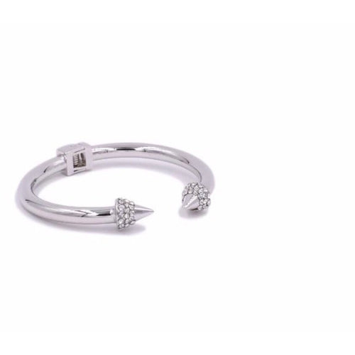 Spike Collection Silver Bling Ring - Glamco Boutique