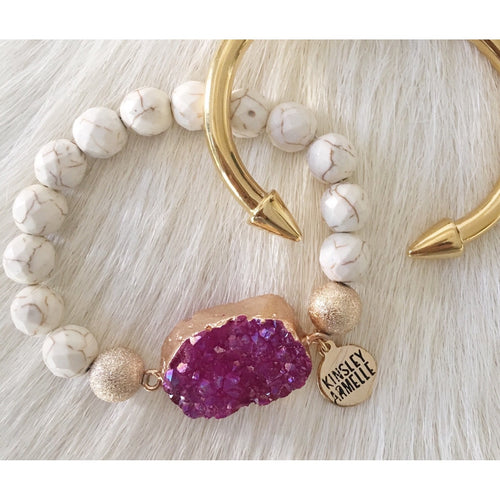 Sale ! Spike Collection Gold Bracelet - Glamco Boutique