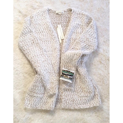 New ! Gigi Lightweight Open Knit Cardigan