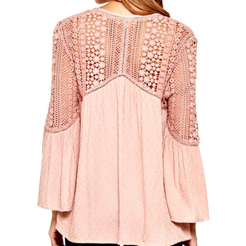 SALE ! Adeline Bohemian Top by Lovestitch - Glamco Boutique