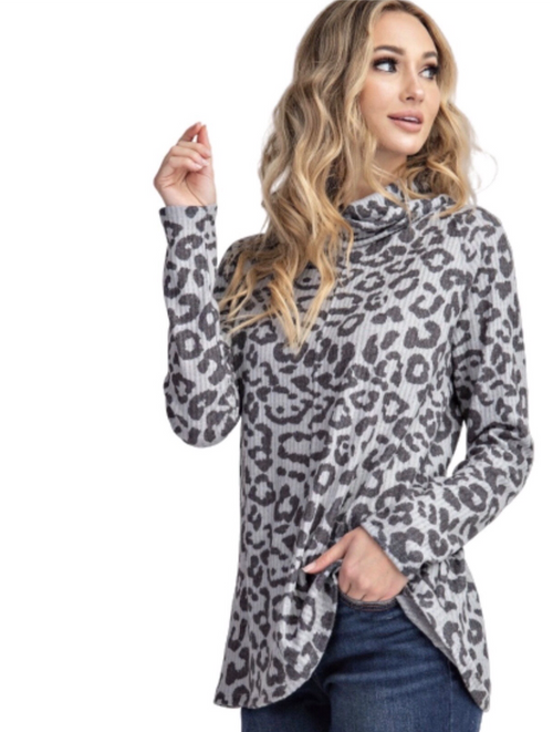 New ! Shelby Cheetah Top - Glamco Boutique