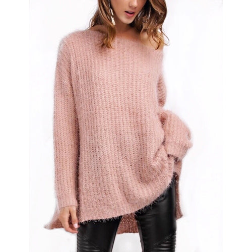 Haley Mohair Sweater in Dusty Mauve , a little o ersized and uber soft