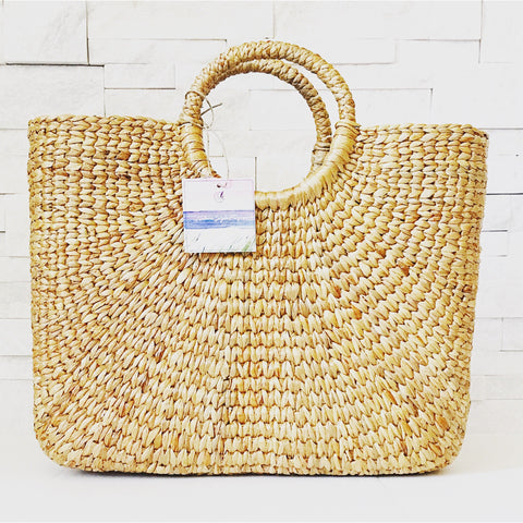 Sale ! Delaney Jute Clutch