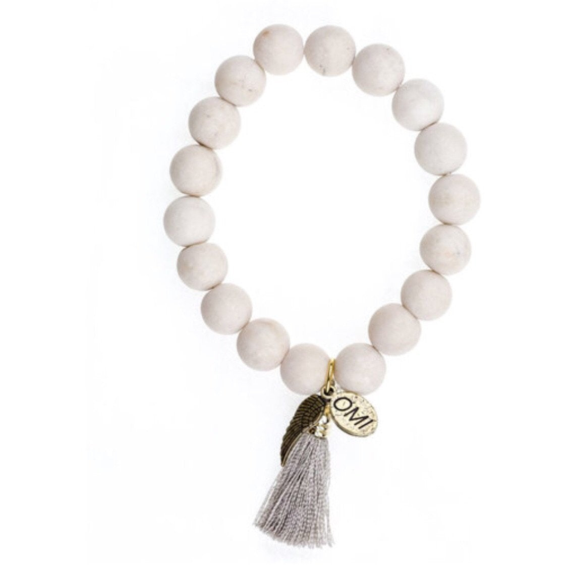 Barletta Stretch Bracelet Set by Omi Beads