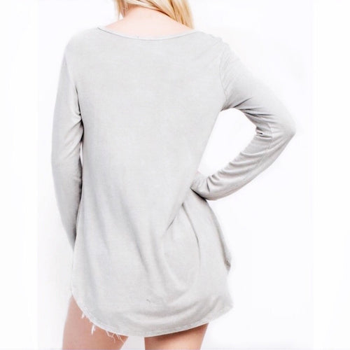 Macie Long Sleeve T-Shirt Top