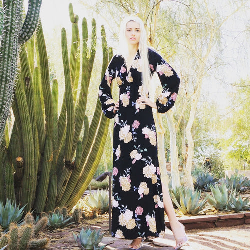 Galina-Long-Sleeve-Floral-Maxi-Dress