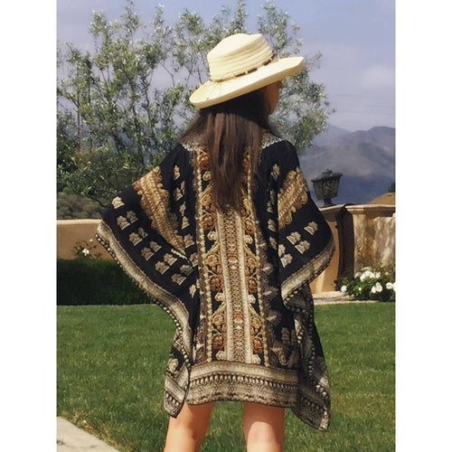 NEW! Carolina Kaftan, Black