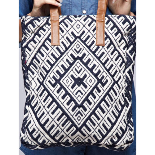 Sale ! Alicia Canvas Tote by Lovestitch - Glamco Boutique