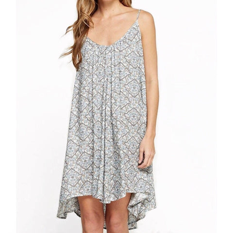 Ella Printed Floral  Maxi Dress by Lovestitch