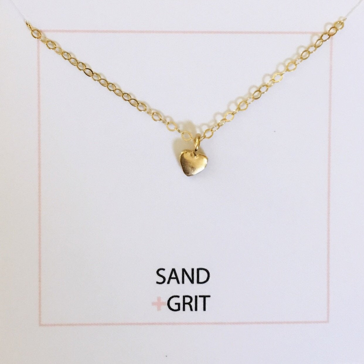 New ! The Tiny Heart Necklace - Glamco Boutique