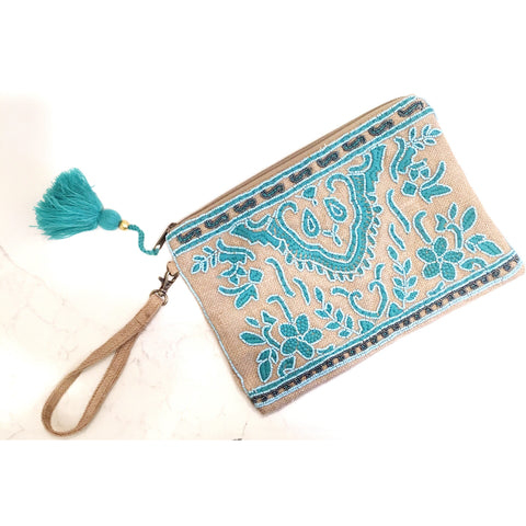 ( Sold Out ) Angelina  Clutch in Salt