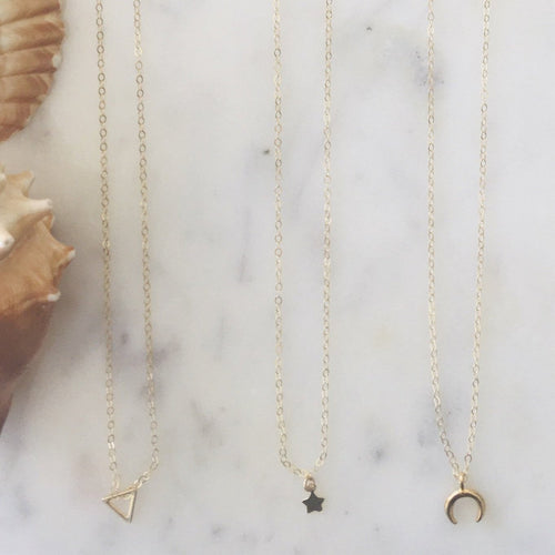 The Tiny Star Necklace - Glamco Boutique