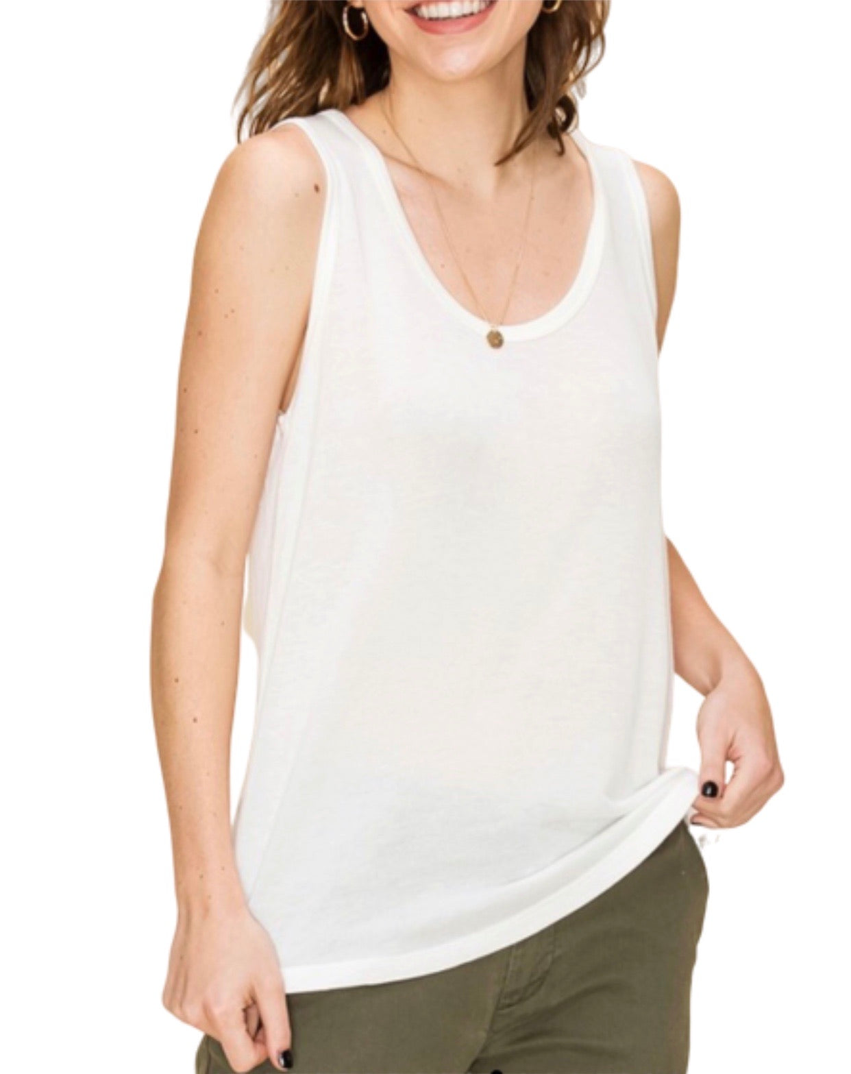 New ! The Basically Everything Sleeveless Top - Glamco Boutique