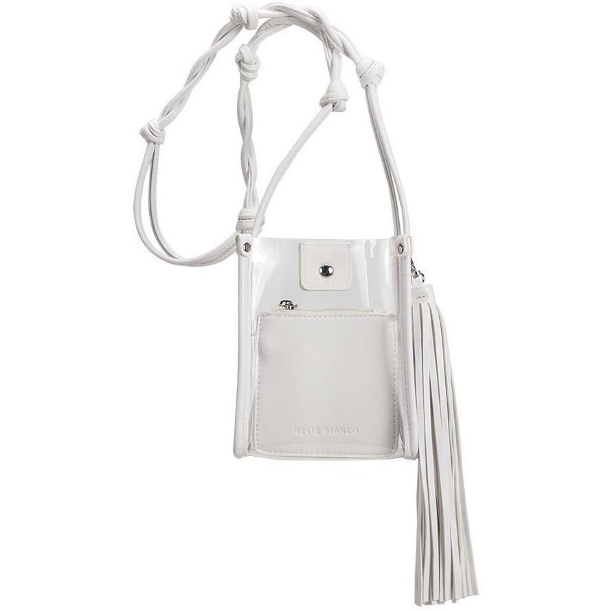 (Sold Out )Kristy Clear White Bag by Melie Bianco - Glamco Boutique