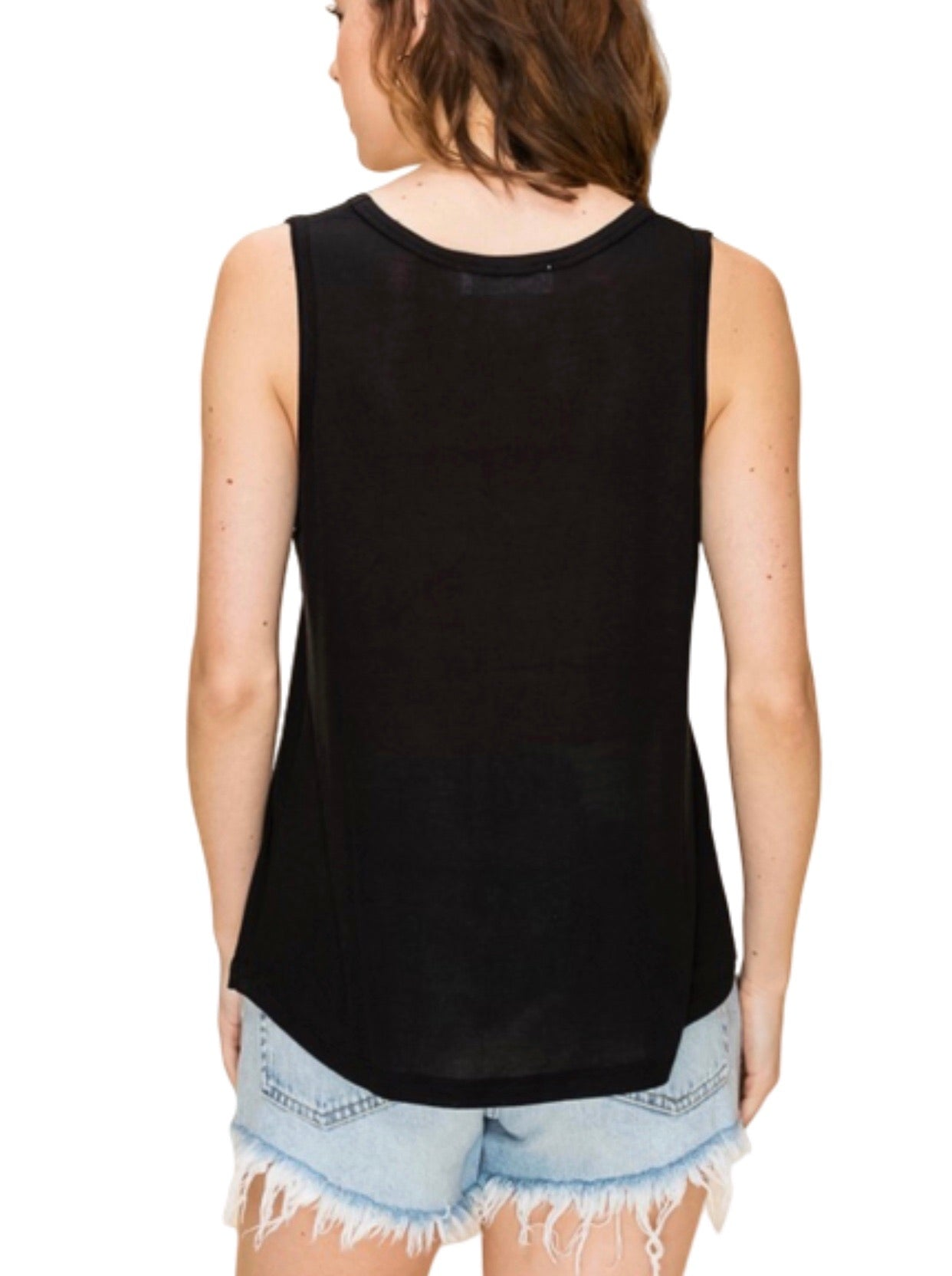 New ! The Basically Everything Sleeveless Top