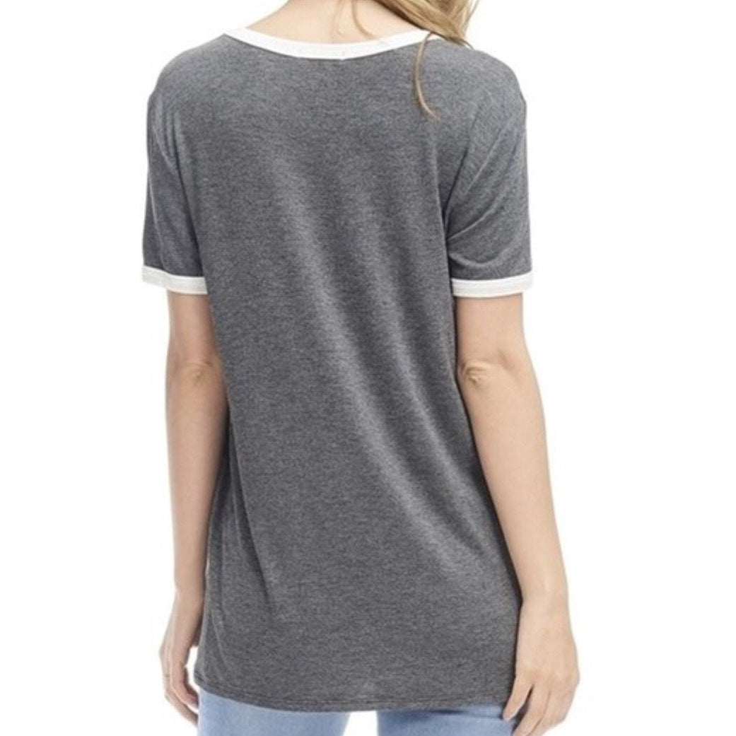 Ciao Graphic T Shirt Top